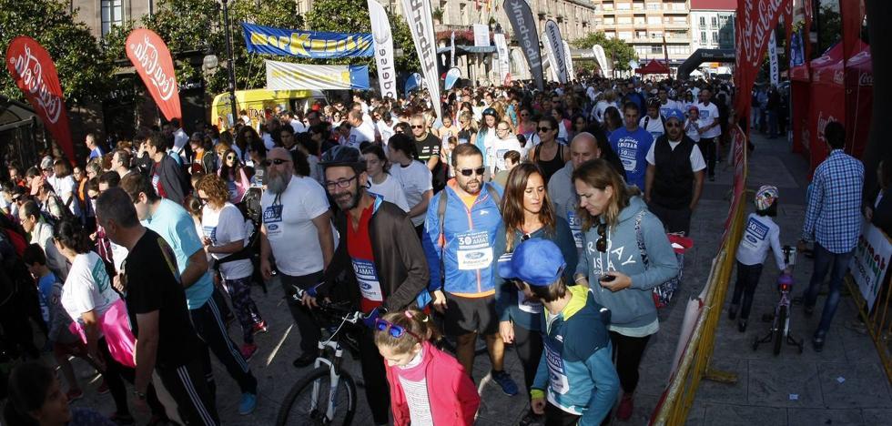 La marcha AMAT bate su récord