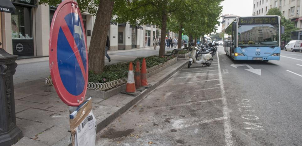 Los últimos pasos para instalar el Metro TUS en el centro se dan en Calvo Sotelo