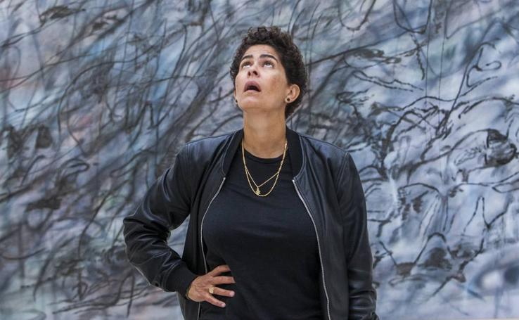 Retratos de Julie Mehretu en el Centro Botín