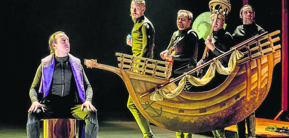 La obra 'Cervantina', Premio Max al mejor espectáculo musical, llega al Palacio