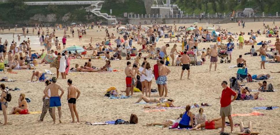 El huracán 'Ofelia' deja más de 33 grados en Cantabria y temperaturas de récord