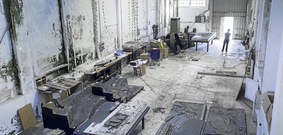 Arqueología industrial con arte