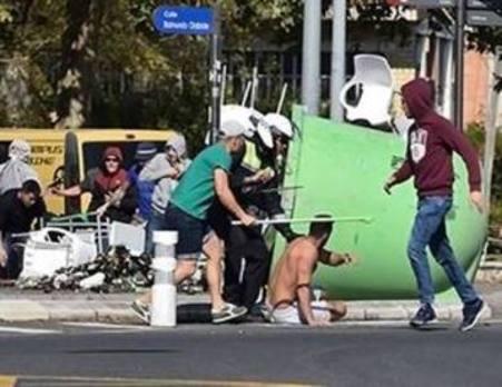Identificadas 49 personas por los incidentes entre aficionados alaveses y del Racing
