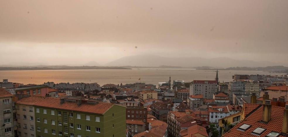 Cantabria desactiva la alerta tras un día envuelta en el humo que llegaba desde Galicia y Asturias