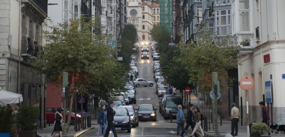 El Ayuntamiento inicia la obra para unir con rampas mecánicas el Paseo de Pereda y General Dávila