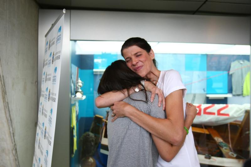 Emotivo anuncio de retirada de Ruth Beitia