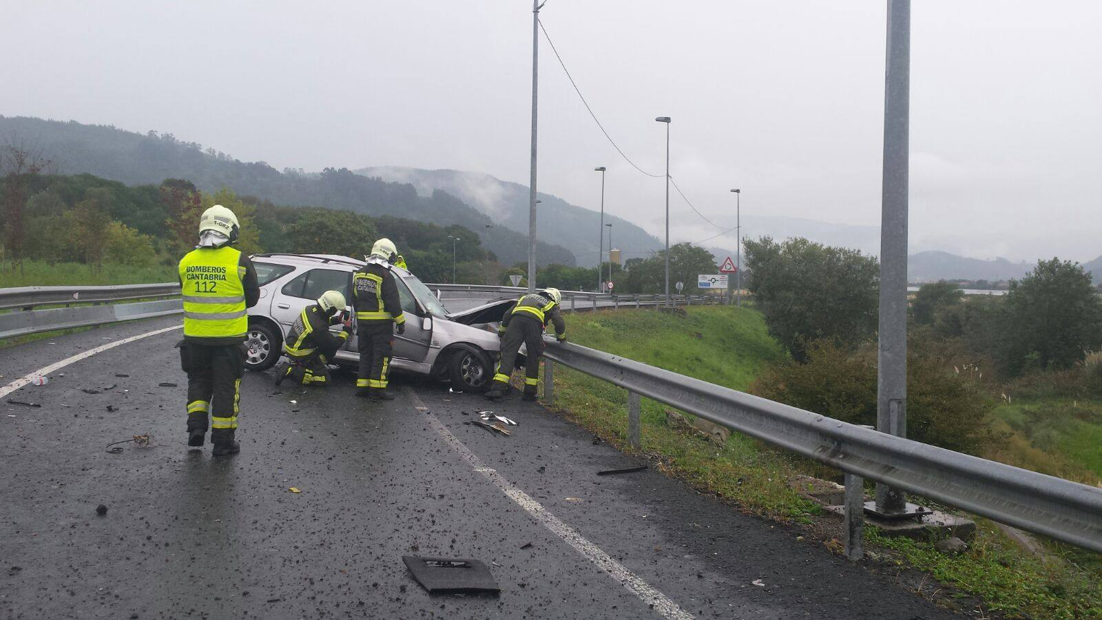 Accidente mortal de tráfico en Colindres