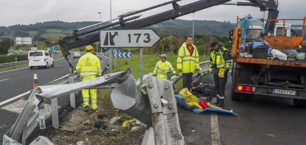 Tres fallecidos en Arenas y Colindres en una jornada negra en las carreteras cántabras
