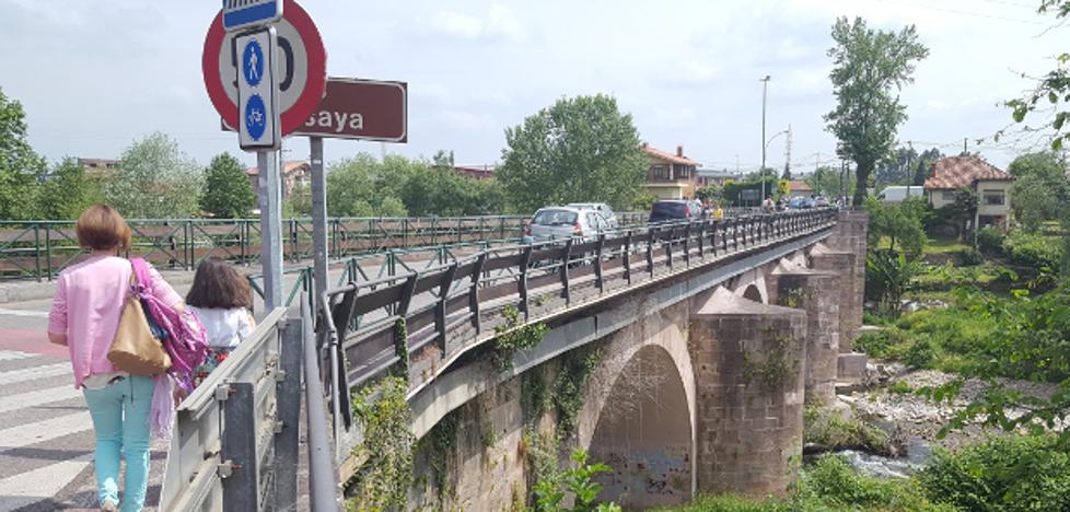 Cartes diseña la ampliación del puente que cruza la Nacional 611 sobre el Besaya