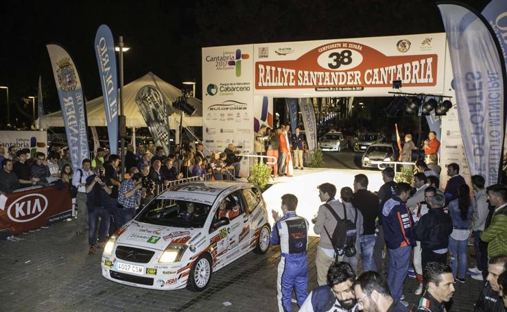 Las imágenes del Rallye Santander-Cantabria