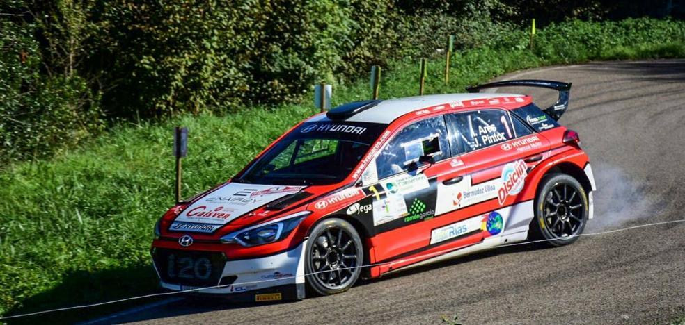 Iván Ares se proclama campeón de España tras ganar el Rally Santander-Cantabria