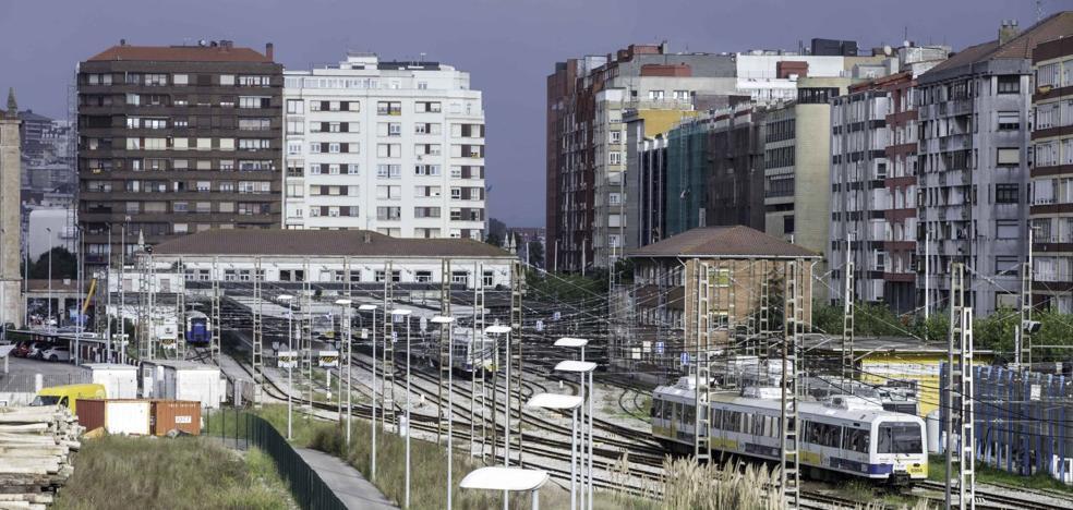 La integración ferroviaria en Santander se financiará con el aprovechamiento urbanístico de 50.000 metros cuadrados