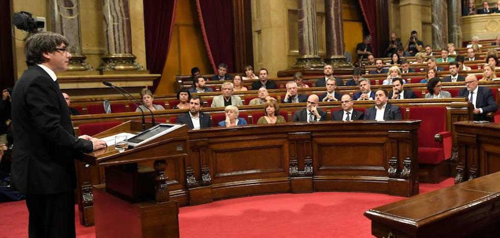 El Parlament aborda hoy cómo afrontar el 155 y la independencia