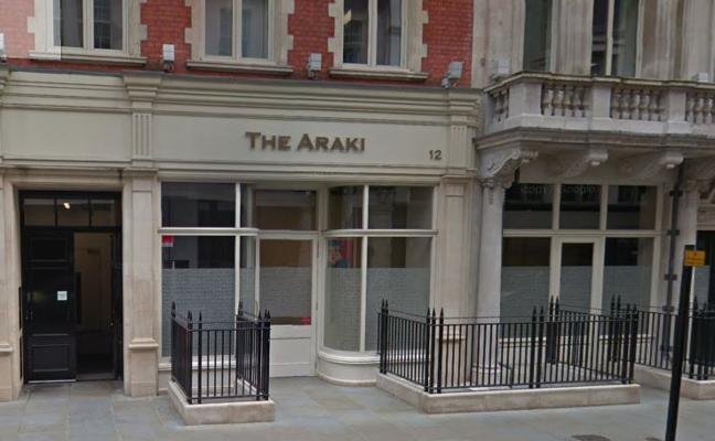 The Araki obtiene tres estrellas
