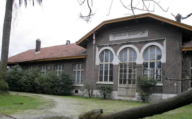 Solvay recupera el uso de sus antiguas escuelas en Barreda