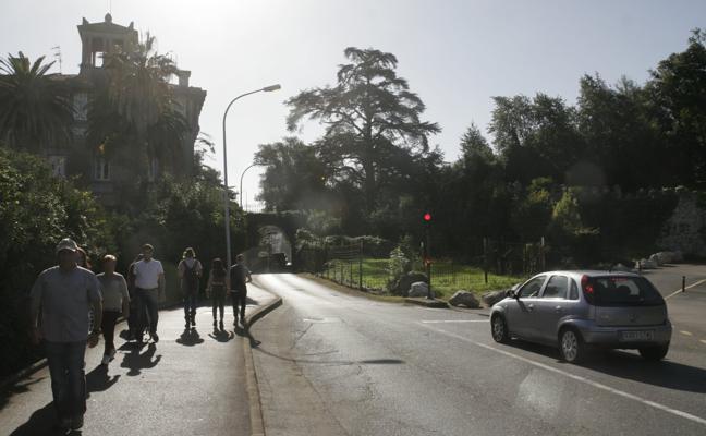 Castro aliviará el tráfico en Rucabado abriendo los dos túneles de Ocharan