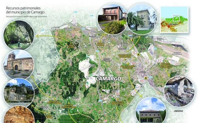 Los tesoros patrimoniales de Camargo