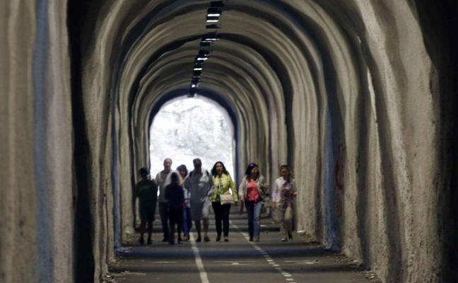 Preocupación en Mioño por el ataque de un hombre a una mujer en el túnel