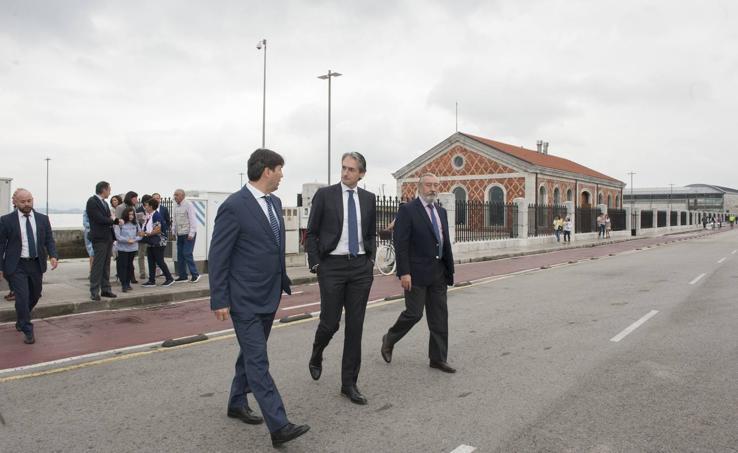 Visita a las naves de Gamazo que acogerán la sede de arte contemporáneo de la Fundación Enaire