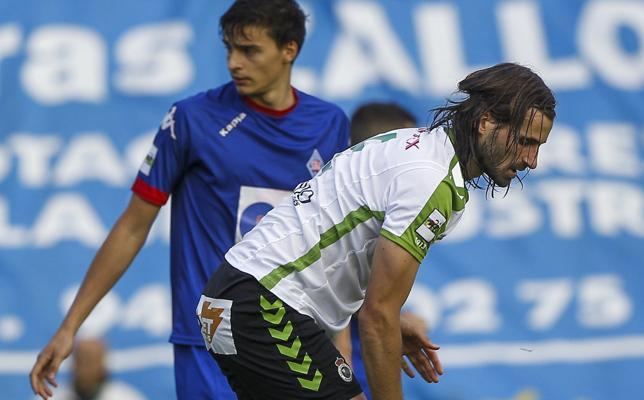 Gonzalo se someterá hoy a una prueba para conocer el alcance de su lesión en la rodilla