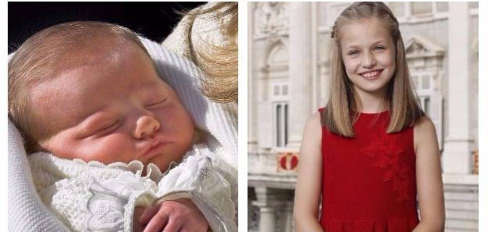 La princesa Leonor cumple 12 años
