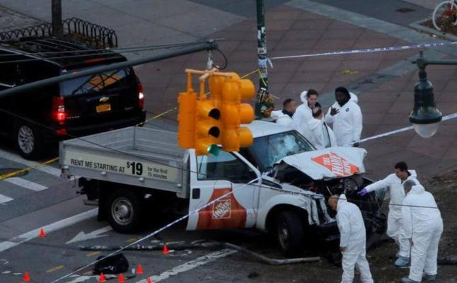 Las imágenes más impactantes del atentado en Nueva York