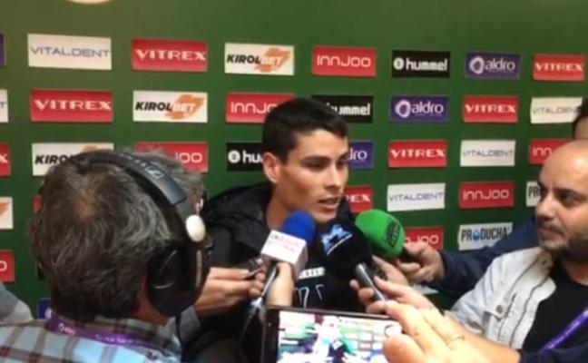 Javi Cobo: «Estamos tranquilos, los grandes equipos tenemos que estar unidos»