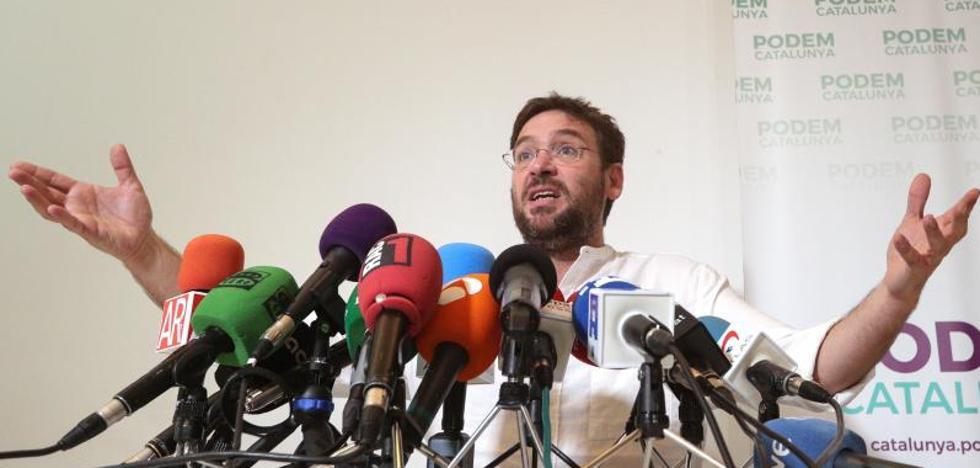 La dirección de Podemos pospone hasta el martes la salida de Fachin