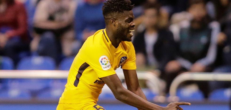 Thomas rescata al Atlético