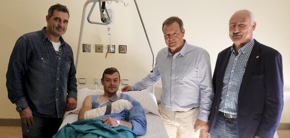 Raúl Domínguez, operado con éxito, será baja diez semanas