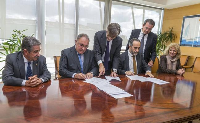 Sodercán y Sidenor rubrican los acuerdos para poner en marcha la nueva sociedad de Reinosa