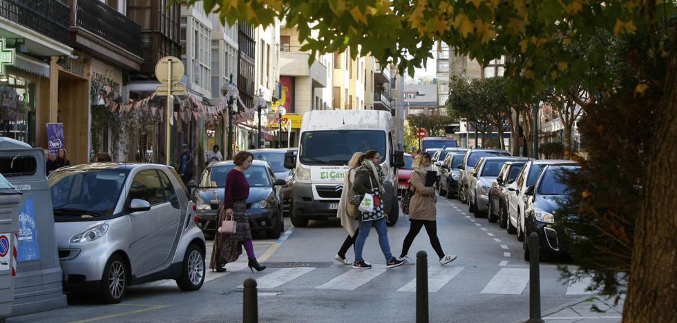 La reforma de la calle Ancha supondrá la pérdida de unos 50 aparcamientos en Torrelavega