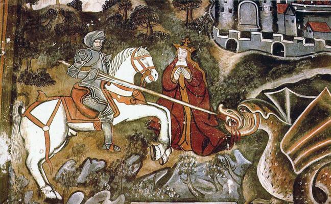Cultura restaurará los frescos de la Iglesia de Ledantes