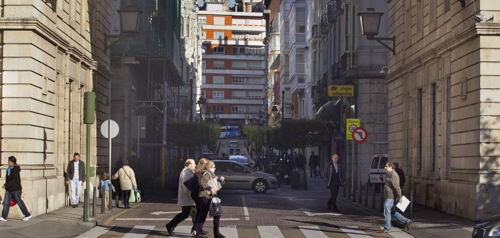 La calle Sanz de Sautuola estará cortada al tráfico cinco meses