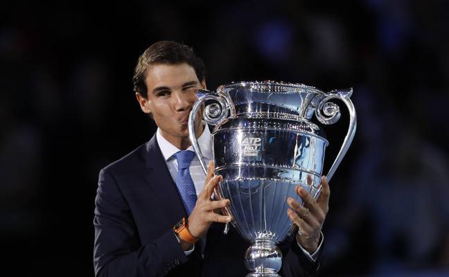 Nadal: «Tener el trofeo de número uno es algo que no hubiera pensado hace un año»