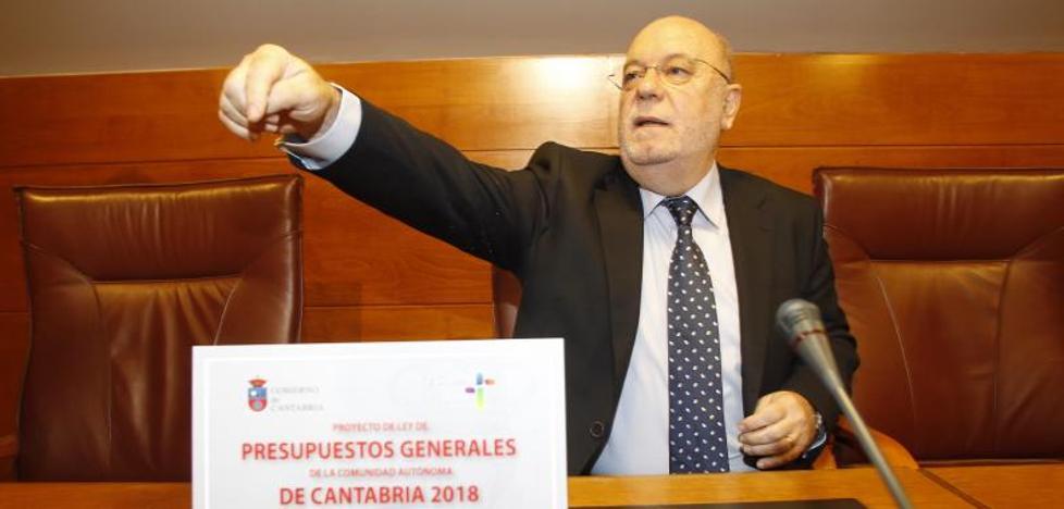 Las inversiones reales de Cantabria superarán el año que viene los 184 millones de euros