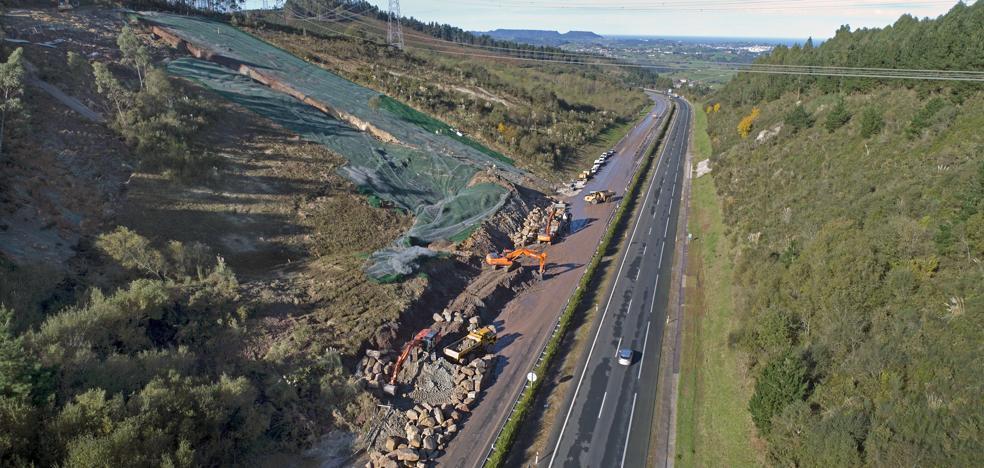 La Autovía del Cantábrico permanecerá cerrada en Caviedes «para garantizar la seguridad»