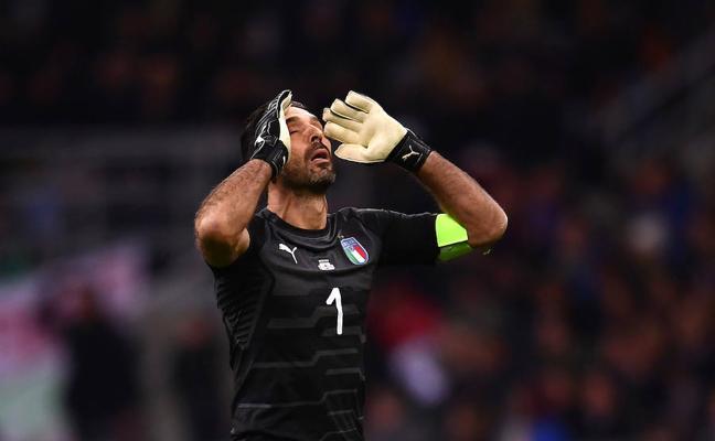 Buffon, otra leyenda sin Mundial