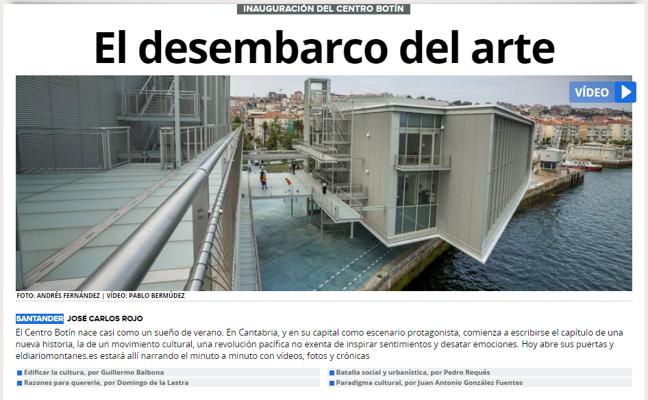 La web de El Diario Montañés obtiene el premio al mejor rediseño del año