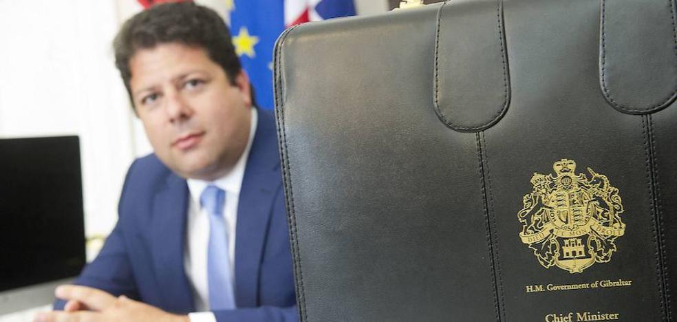 Fabian Picardo: «El 'Brexit' nos quita la libertad de movimiento en la UE»