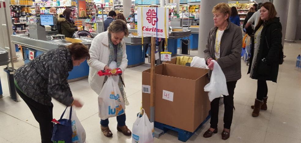 Cáritas pide colaboración ciudadana para llenar las despensas en Los Corrales