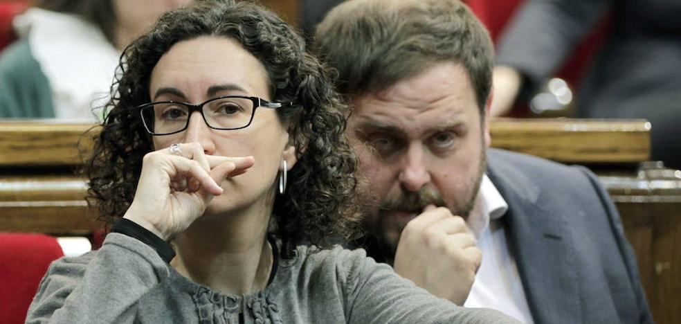 Junqueras apunta a Marta Rovira como próxima presidenta de la Generalitat