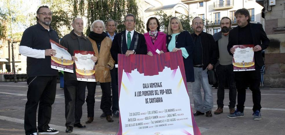 Diez grupos de los 60 y 70 homenajearán a los pioneros del pop-rock en Cantabria