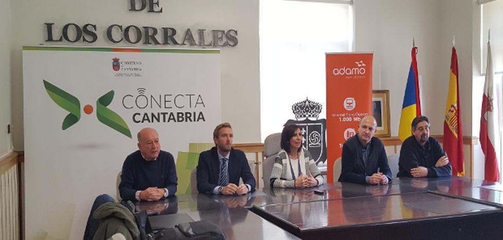 Los Corrales se apunta a internet de alta velocidad con el proyecto Conecta Cantabria