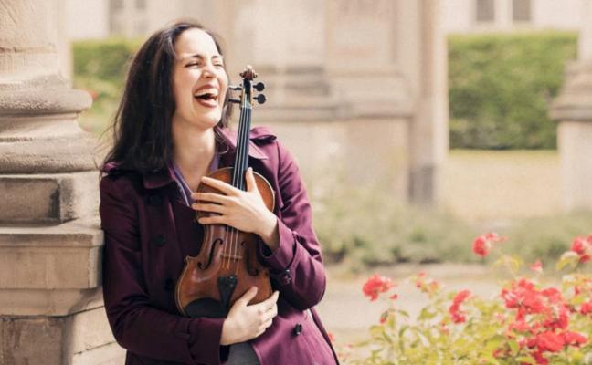 La violinista Shopia Jaffé y la Filarmónica de Armenia, esta noche en el Palacio de Festivales