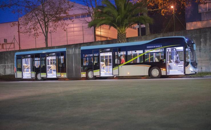 Los nuevos autobuses Metro-TUS