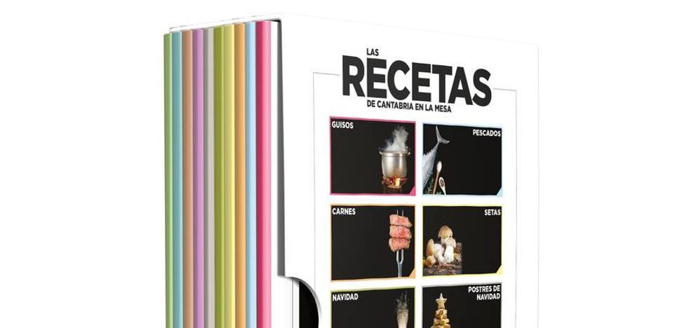 El Diario estrena el domingo la colección de 'Las recetas de Cantabria en la Mesa'