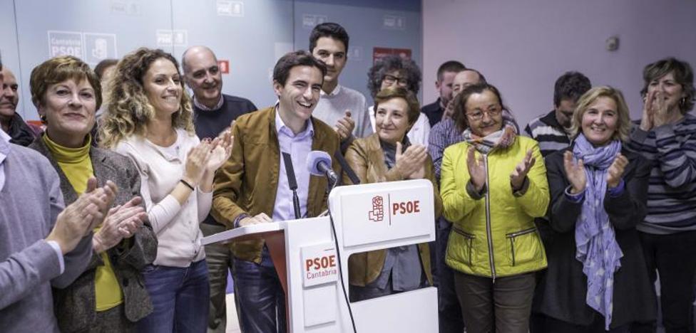 Casares ratifica su liderazgo al frente de los socialistas de Santander