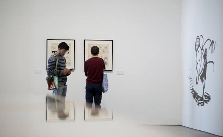 Exposición de George Herriman en el museo Reina Sofía