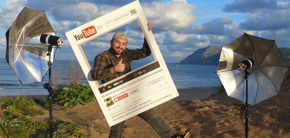 «Para triunfar en YouTube hay que ser sincero y saber reírse de uno mismo»